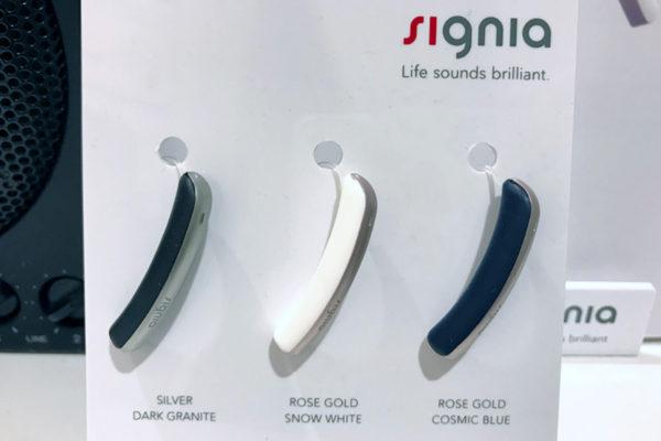 シーメンスの小型スタイリッシュ補聴器