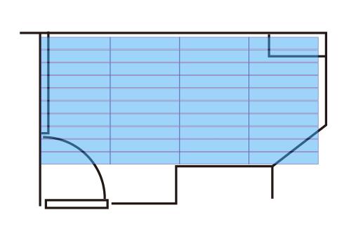 床DIYフロアタイルを仮置き